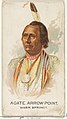 Agate Arrow Point, Warm Springs, from the American Indian Chiefs series (N2) for Allen & Ginter Cigarettes Brands MET DP828042.jpg
