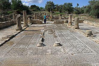 Agia Trias, Cyprus - Ruins of early christian basilica
