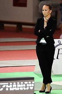 Aida Khasanova Uzbekistani fencer and referee