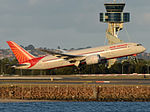 Air India Boeing 787 taking off at Sydney Airport.jpg