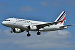 Airbus A319-100 Air France (AFR) F-GPMA - MSN 598 (9741122562).jpg