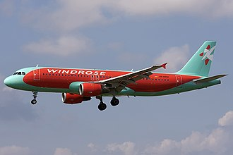 Windrose Airlines - Windrose Airlines Airbus A320-200