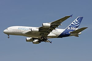 Airbus A380 at BRE (3519263240).jpg