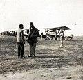 Airplane, airport, biplane Fortepan 93130.jpg