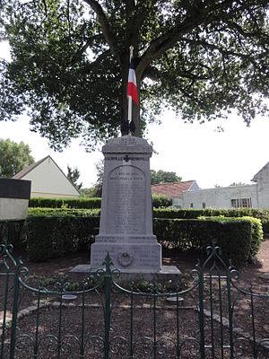 Aisonville-et-Bernoville - The War Memorial