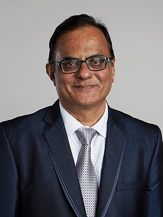 Ajay K. Sood - Ajay Sood in 2015, portrait from the Royal Society