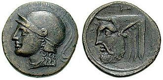 Acarnania - Ancient coin of Acarnania, c. 300–167 BC