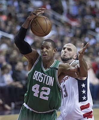 Al Horford - Horford with Boston in May 2017