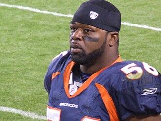 Al Wilson - Wilson with the Denver Broncos in 2006