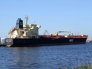 Alam Bitara at Port of Amsterdam, Holland 09-Sep-2006.jpg