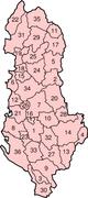 Distretti dell'Albania