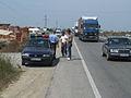 Albania Police Control on Highway.jpg