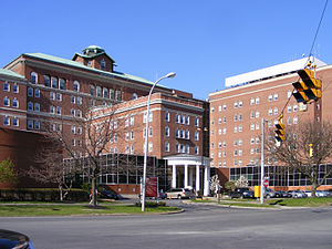 This is the Albany Medical Center.
