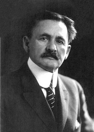 Albert A. Michelson - Image: Albert Abraham Michelson 2