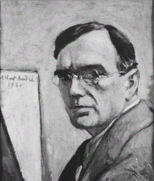 Albert André - Self-portrait of Albert André, 1920