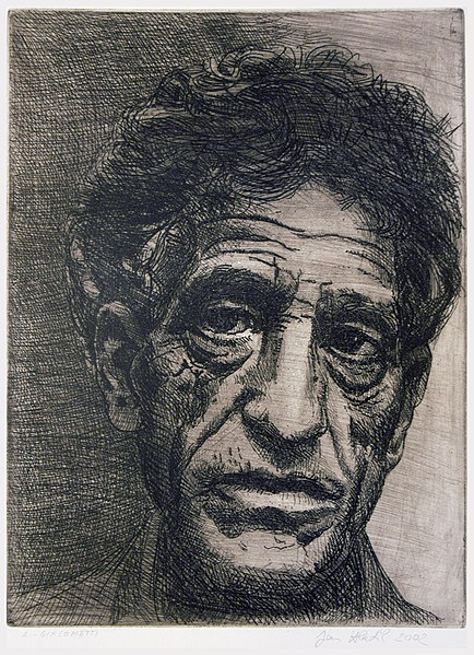 Plik:Alberto-Giacometti,-etching-(author-Jan-Hladík-2002).jpg