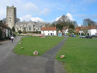 Aldbourne Village in Wiltshire, England