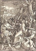 Albrecht Dürer, The Betrayal of Christ, 1510, NGA 602.jpg