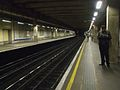 Aldgate East tube stn westbound looking east.JPG