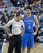 Alex Abrines (Thunder at Wizards 2-13-17).jpg