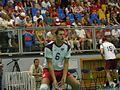 Alex Porter Warming up Poland v GB International Volleyball Match.jpg