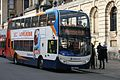 Alexander Dennis Enviro400 bus at Queen's College, High Street, Oxford, England.jpg