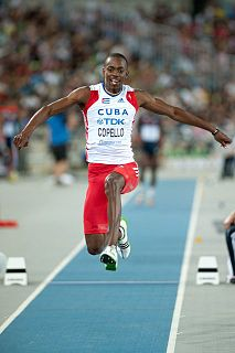 Alexis Copello Cuban triple jumper
