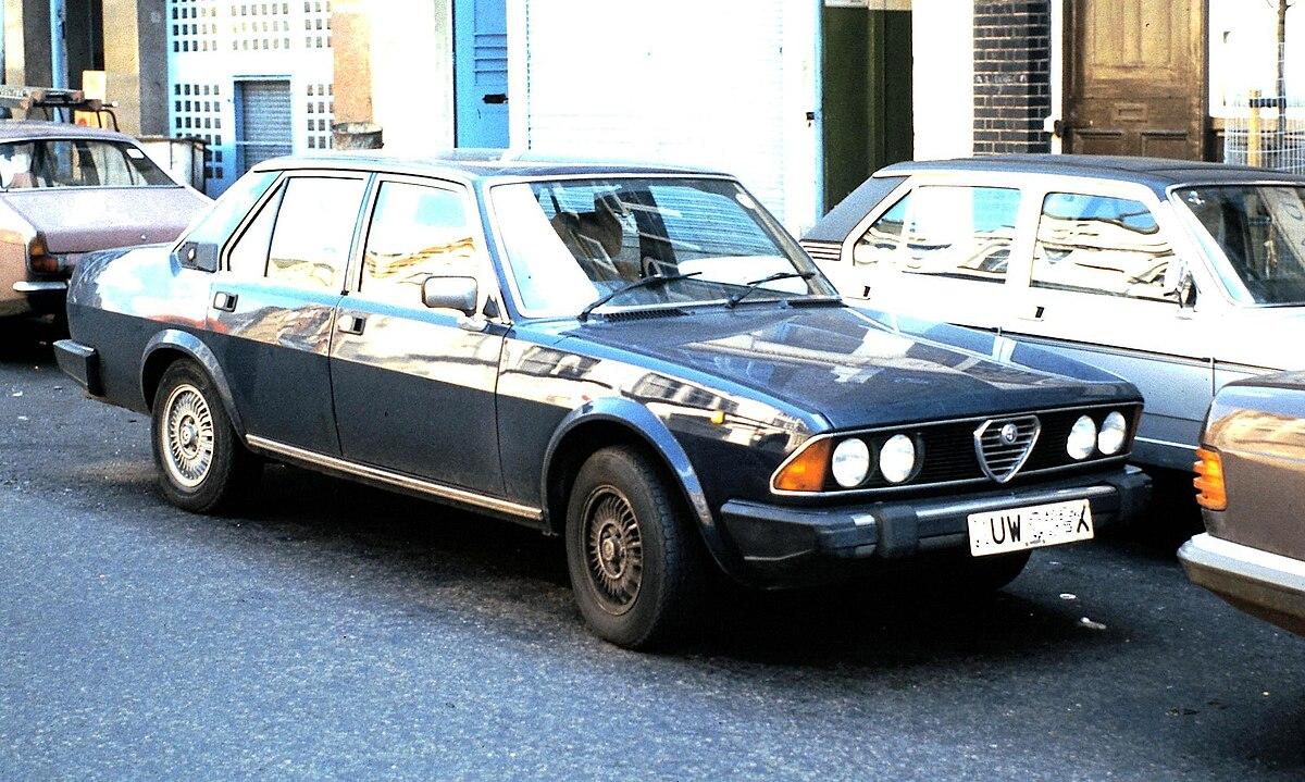 Alfa Romeo Alfa 6 - Wikipedia, la enciclopedia libre