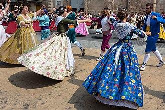La Mare de Déu de la Salut Festival - Dance of Llauradores.