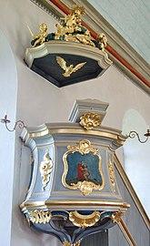 Fil:Algutsrums kyrka Predikstol i rokoko 016.jpg