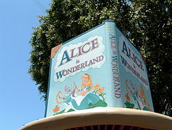 Alice in Wonderland Dark Ride.JPG