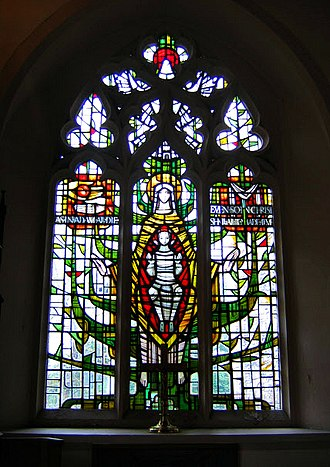 All Saints Church, Benhilton - Stained glass window