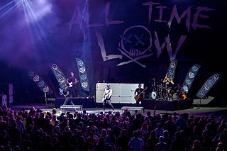 All Time Low pop punk band