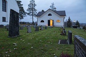 Dead house - The dead house next to Garpenberg church (Church of Sweden)