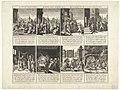 Allegorieën op het misbruik van het procederen, ca. 1600 Litis Abusus Abus du Proces Misbruyck van't Proces (titel op object), RP-P-OB-80.477.jpg