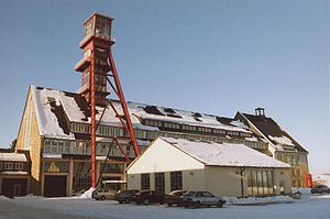 Ore Mountain Mining Region - Arno Lippmann shaft, Altenberg