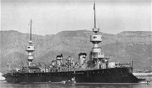 French cruiser Chanzy - Image: Amiral charner