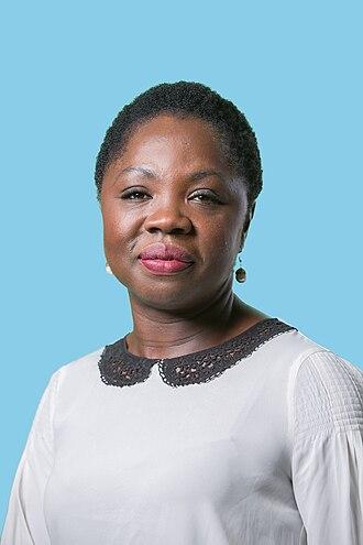 Amma Asante (politician) - Amma Asante in 2016