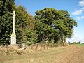 An ancient cross on the edge of The Thicks - geograph.org.uk - 1551188.jpg
