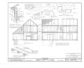 Ananias Conklin House, Main Street, Amagansett, Suffolk County, NY HABS NY,52-AMGA,1- (sheet 4 of 7).png