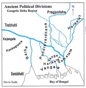 Harikela - Ancient divisions in Bengal