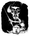 André Gill - Henri de Rochefort, 20 années de Paris.png