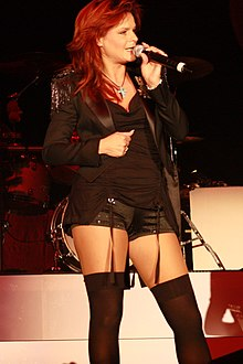 Andrea Berg Performing Live In Magdeburg In October