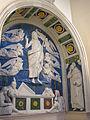 Andrea della robbia, resurrezione coi santi bartolomeo e bernardo, 1500-1525 ca. 02.JPG