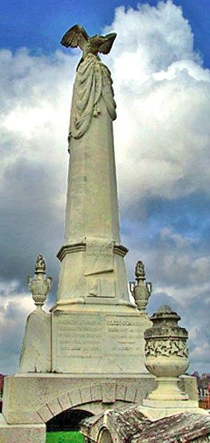 Andrew Johnson National Cemetery - Andrew Johnson's grave