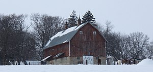 English: Andrew Peterson Farmstead in Waconia,...