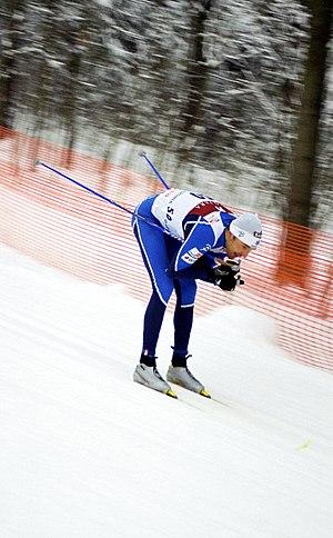 Sport in Estonia - Image: Andrus Veerpalu 2006