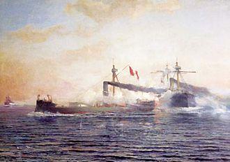 Battle of Angamos - Battle of Angamos