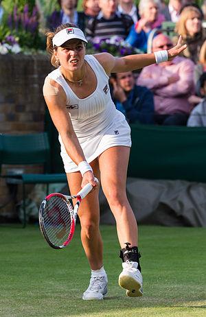 Anna Tatishvili - At the 2013 Wimbledon Championships.