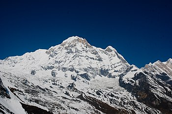 English: Annapurna sanctuary view
